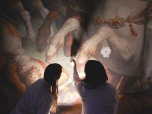 El Lleonard perdut darrere la pintura d'En Vasari