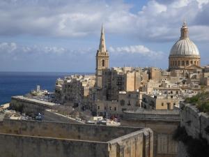 OcellsMalta. El monumental centre històric de La Valletta. Foto: Pere Alzina